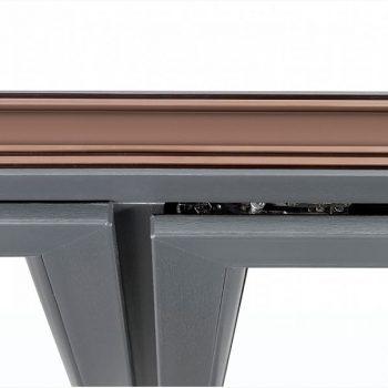 Serramenti PVC particolare angolo